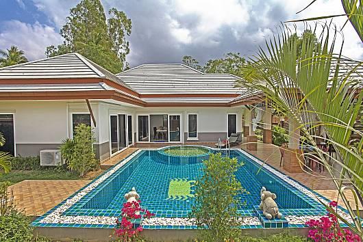 Аренда виллы в Паттайе: Thammachat Vints No.141, 3 Спальни. 9750 бат в день