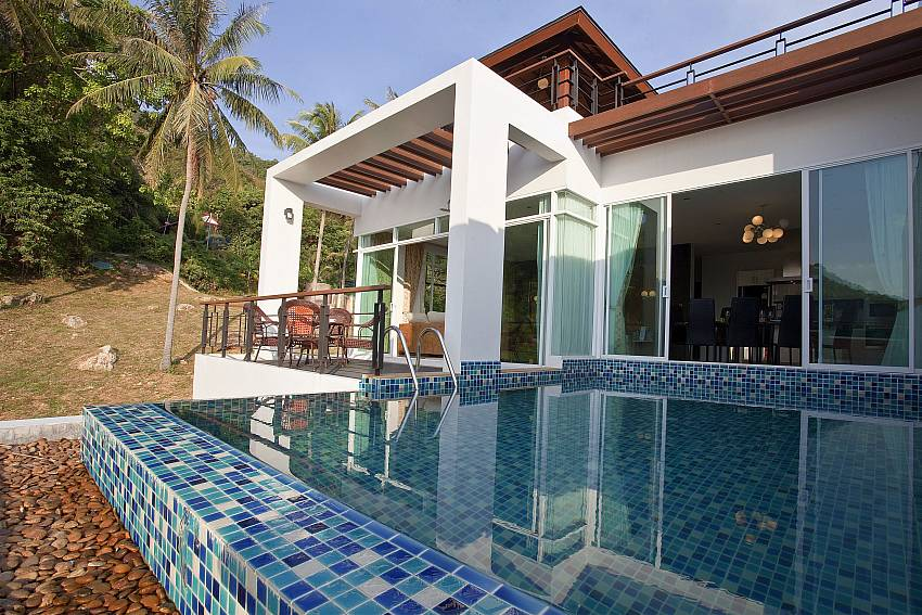 Swimming pool in front of the house Of Kata Horizon Villa B2