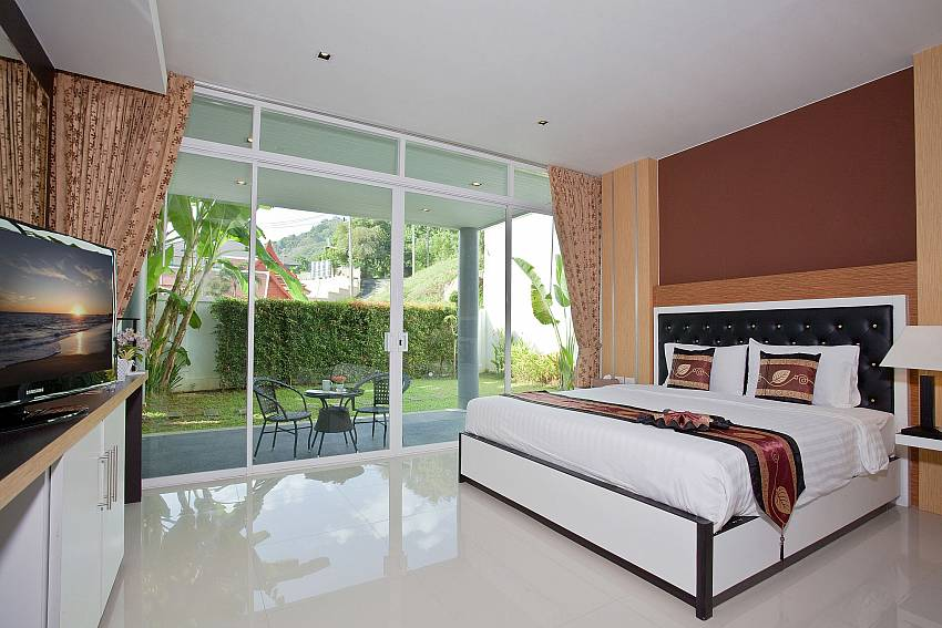 Bedroom balcony Of Kata Horizon Villa B2 (First)