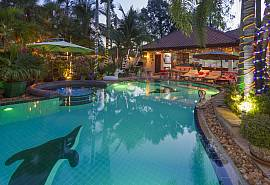 Relaxing Palms Pool Villa | 4 Betten Pool Haus nahe Banglamung Pattaya