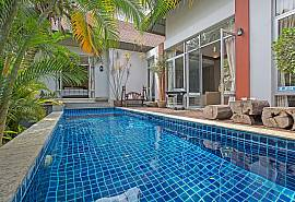 Jomtien Waree 2 | 2 Bed Pool Villa in Na Jomtien South Pattaya