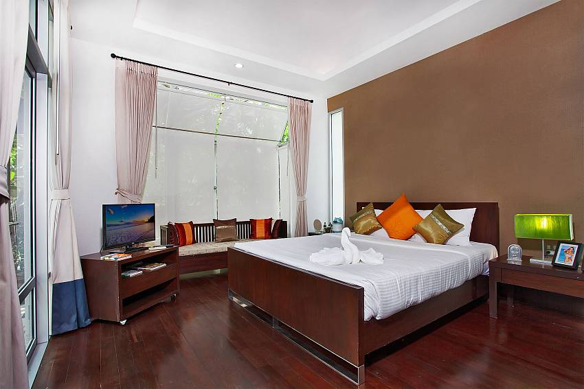 Bedroom with TV Of Jomtien Waree 2 (First)