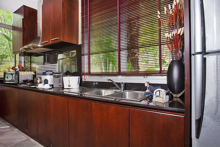 Fully equipped kitchen at 2 bedroom home  Jomtien Waree 2 Pattaya