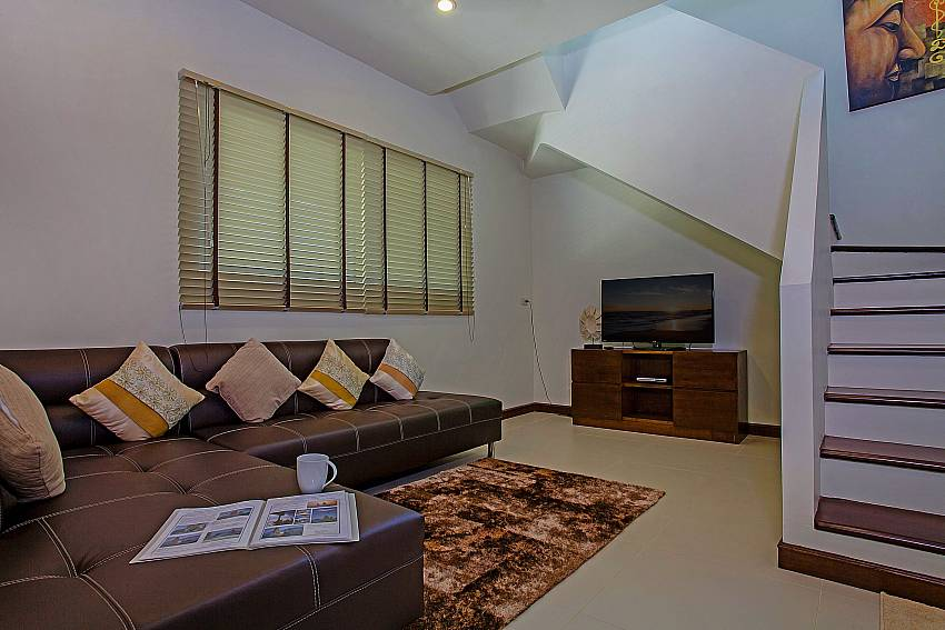 Living room near the ladder Of Rawayana Pool Villa