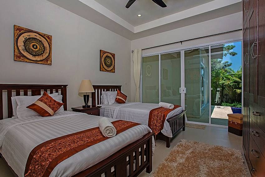 Double bedroom see views Of Rawayana Pool Villa (Second)