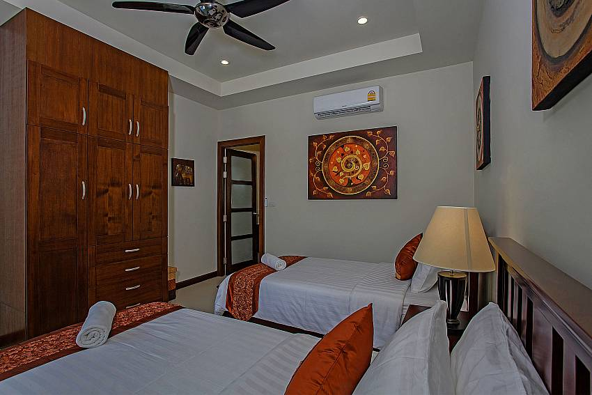 Double bedroom with wardrobe Of Rawayana Pool Villa (Second)