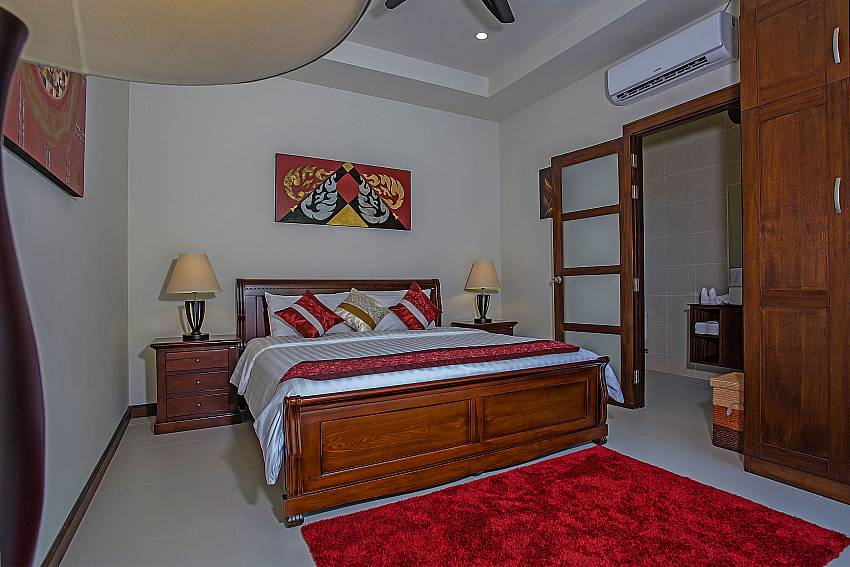 Bedroom colorful with wardrobe Of Rawayana Pool Villa (Third)