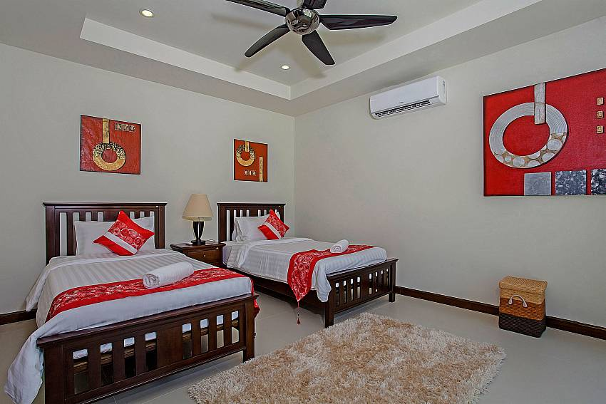 Double bedroom Of Rawayana Pool Villa (Five)