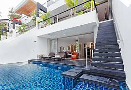 Seductive Sunset Villa Patong A7 | 3 Bed Pool Home in Patong Phuket