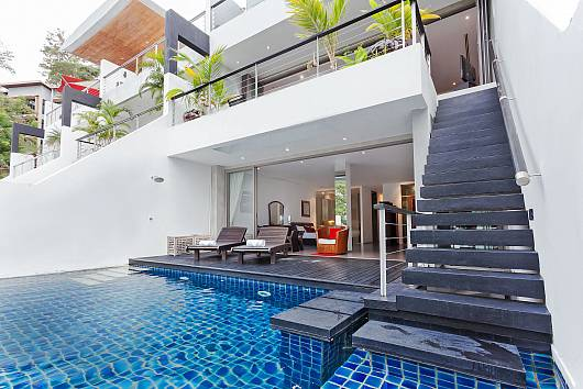 Rent Phuket Villas: Seductive Sunset Villa Patong A7 - 3 Bedrooms, 3 Bedrooms. 17396 baht per night