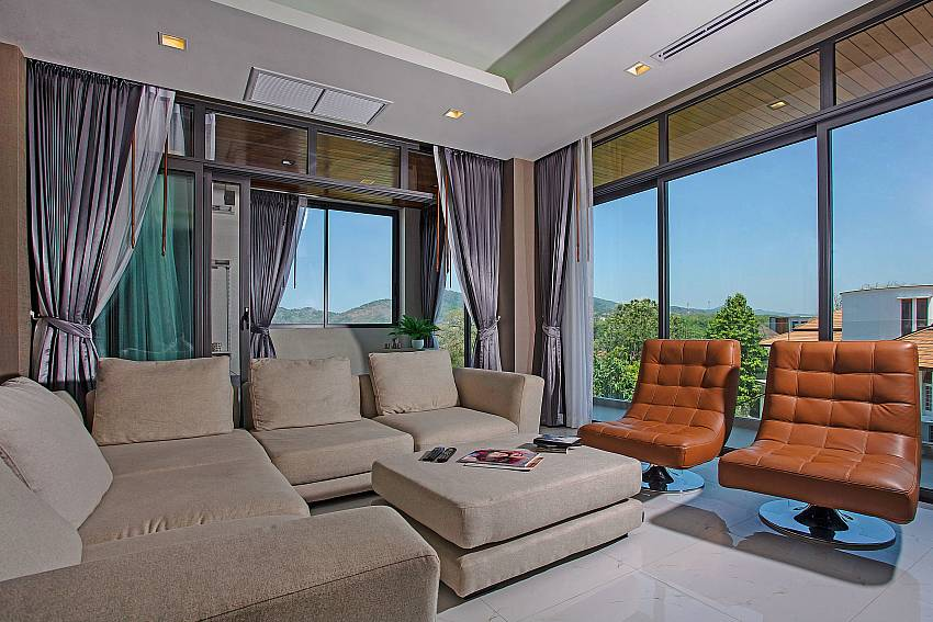 Living room see views Of Equilibrium Rawai Villa