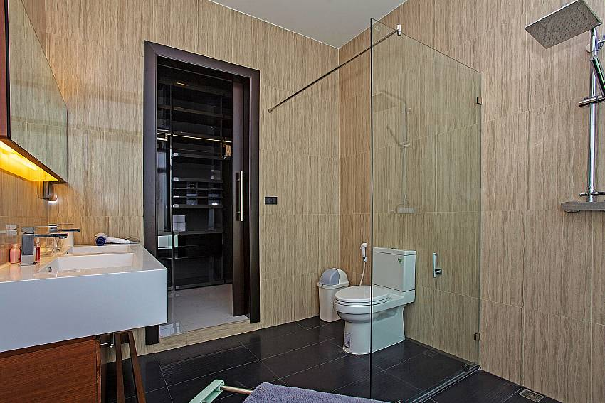 Toilet with shower Of Equilibrium Rawai Villa