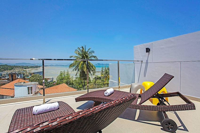 Sun bed outdoor Of Equilibrium Rawai Villa