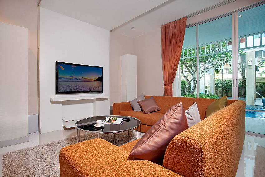 Living room see view of Jomtien Waree 9