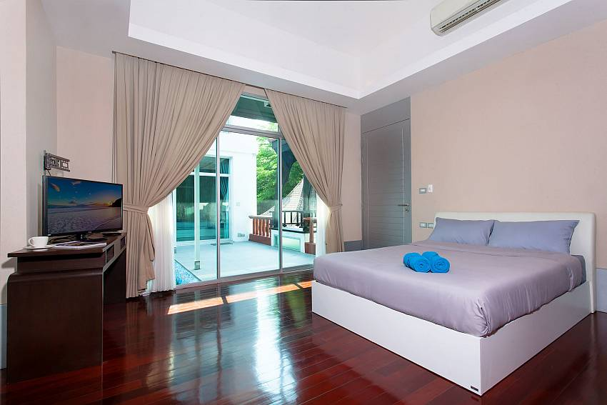 Bedroom near the pool of Jomtien Waree 9 (Third)