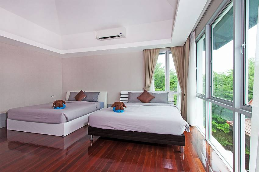 Double bedroom views of Jomtien Waree 9 (Second)