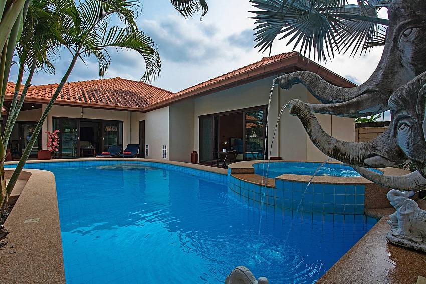Tranquillo Pool Villa 3 Bed Asian Pool Rental In Na
