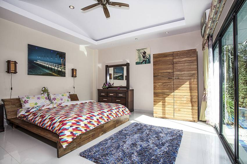 Bedroom with wardrobe Of Thammachat P2 Laima Pool (First)