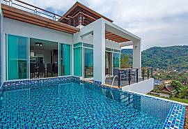 Kata Horizon Villa A1 |4 Bed Pool Villa with Sea Views in Kata Phuket