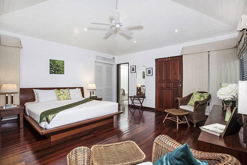 Bedroom with Sofa chair Of Villa Kanya (Third)