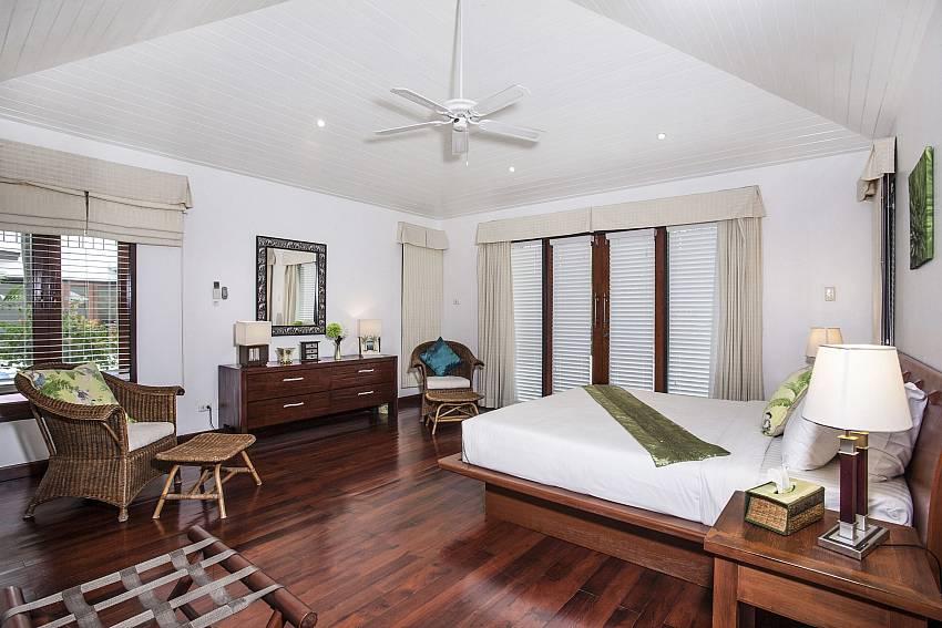 Bedroom views with sofa Of Villa Kanya (Third)