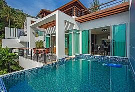 Kata Horizon Villa A2 | Hochmoderne 4 Betten Pool Villa in Kata Phuket