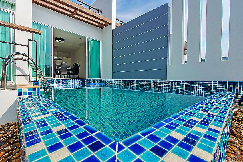 Swimming pool of Kata Horizon Villa A2