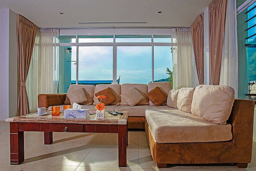Living room of Kata Horizon Villa A2