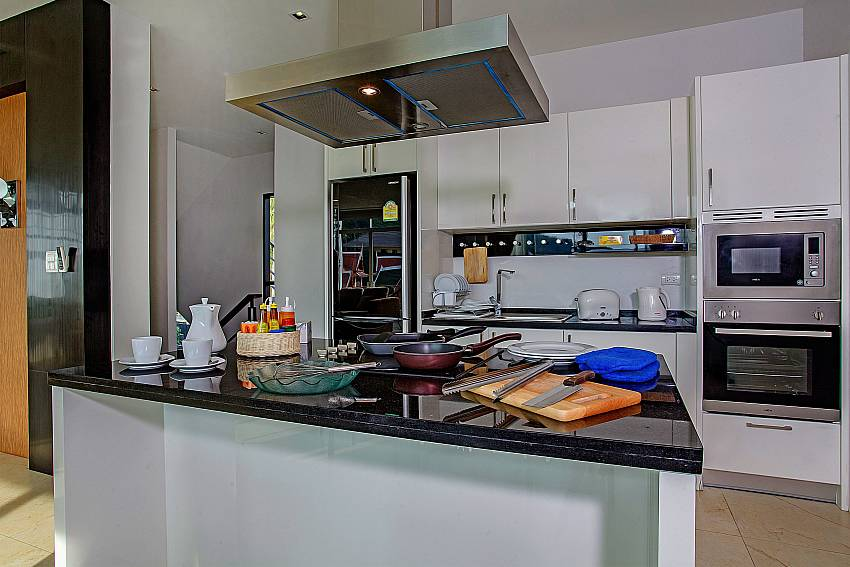 Kitchen room of Kata Horizon Villa A2