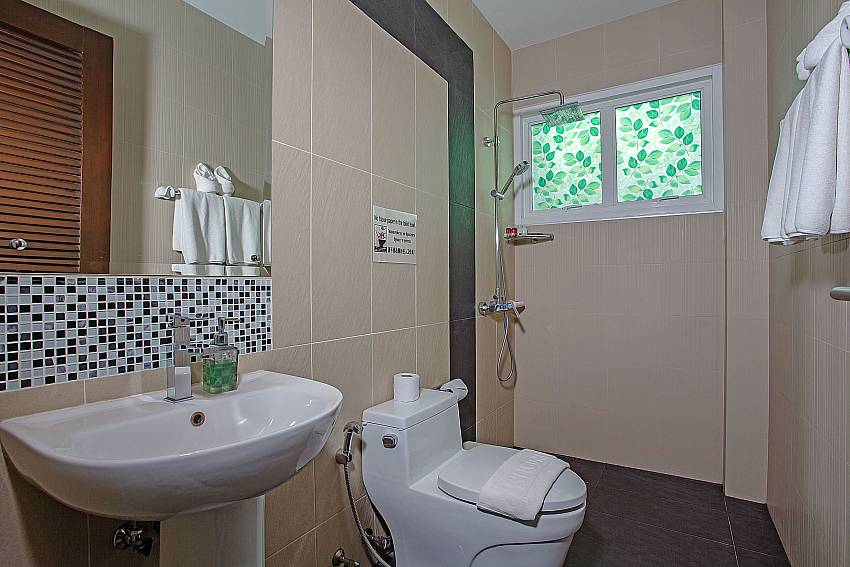 Toilet with basin wash of Kata Horizon Villa A2