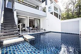 3Br Sea View Pool Villa with Infinity Pool in Patong Phuket