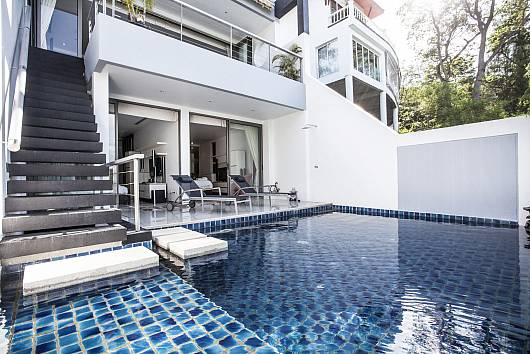 Rent Phuket Villas: Seductive Sunset Villa Patong A8, 3 Bedrooms. 17396 baht per night