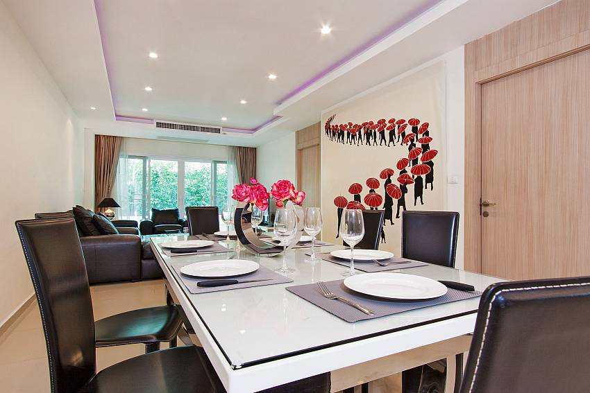 Dinning table of Fantasia Apartment