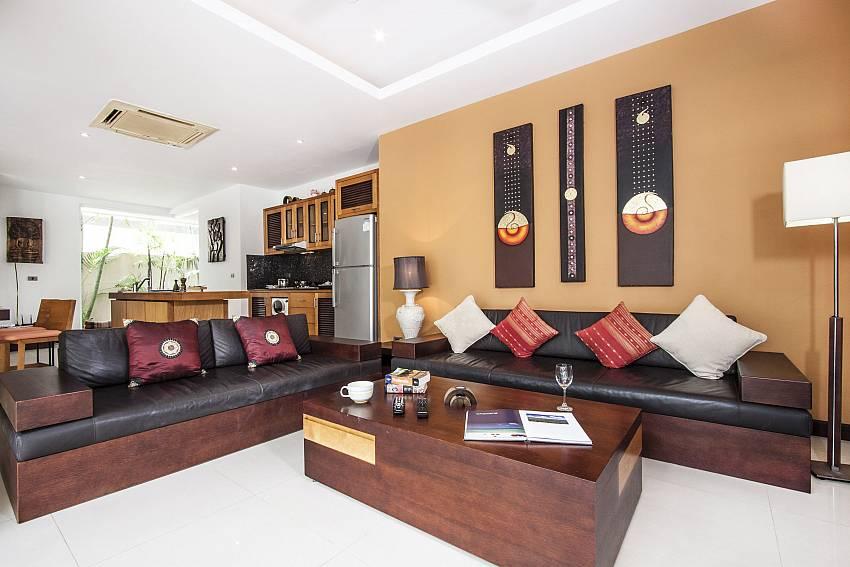 Living room of Villa Lipalia 104