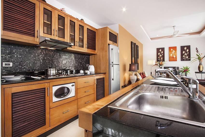 Sink near the kitchen of Villa Lipalia 104