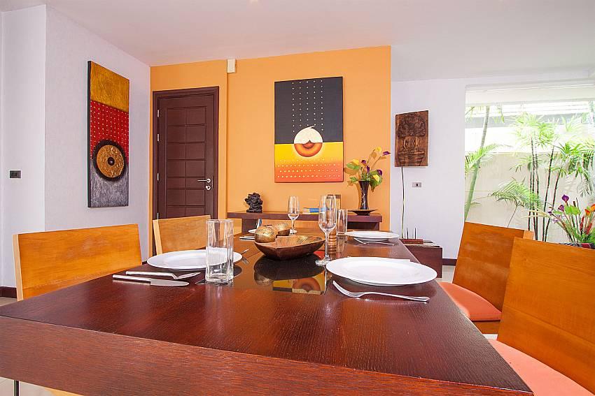 Open plan dining are at Villa Lipalia 104 Lipa Noi Koh Samui