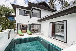Luxuriöse 3 Betten Pool Villa