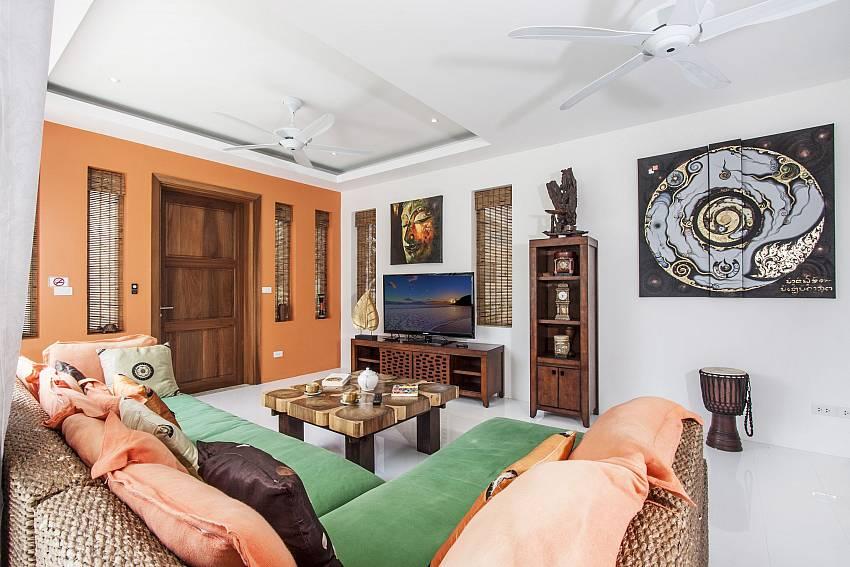 Living room of  Banthai Villa 11