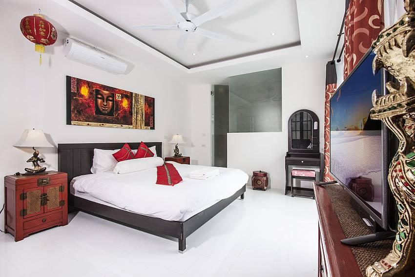 Bedroom of  Banthai Villa 11 (First)
