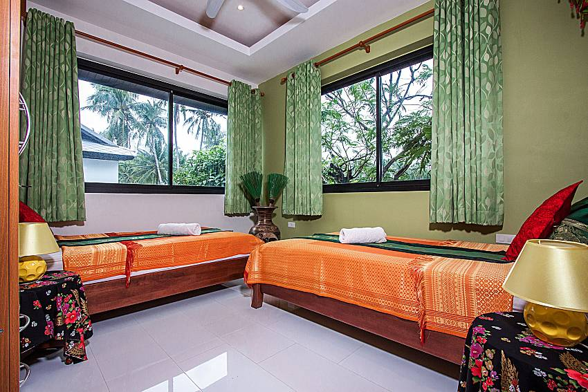 Double bedroom views of Banthai Villa 12 (Third)