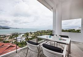 Bophut View Penthouse | 3 Beds with Sea View in Samui