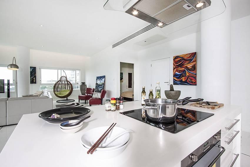 Cooking corner of Bophut View Penthouse