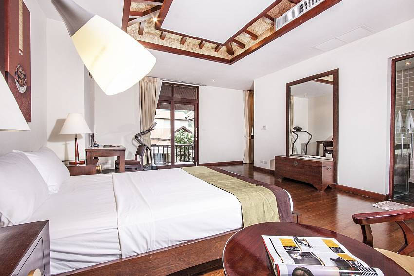 Large bedroom of Chaweng Sunrise Villa 1 (Second)