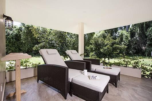 Rent Samui Villa: Baan Maenam Villa No.3 - 3 Beds, 2 Bedrooms. 5775 baht per night