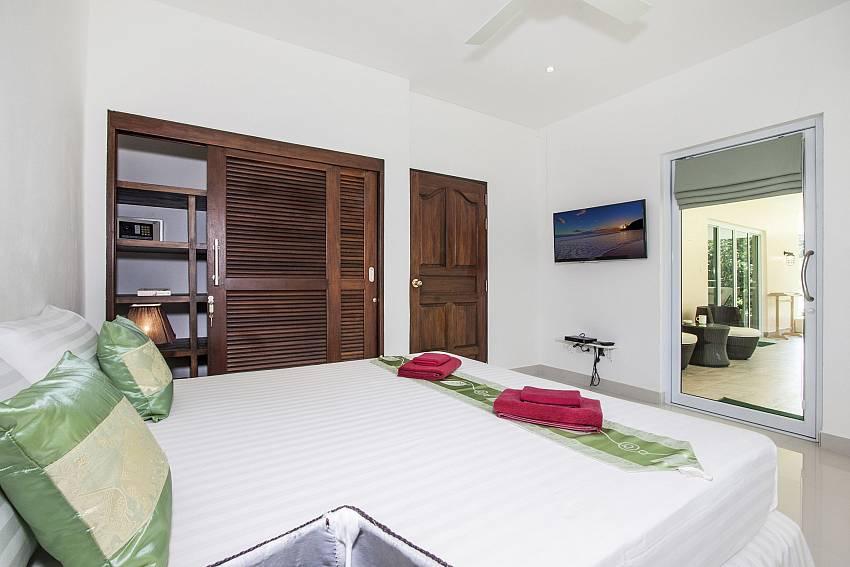 Bedroom near outside  of Baan Maenam No.3 (First)