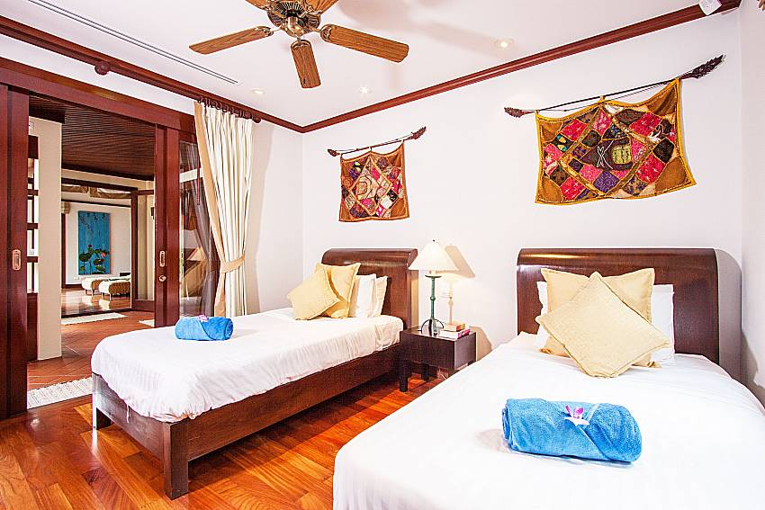 Double bedroom of Baan Pasana (Second)