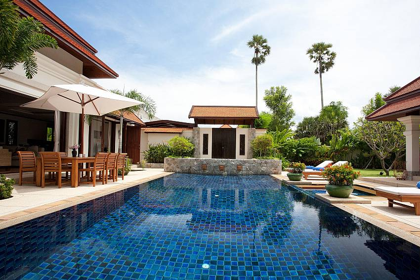 Swimming pool of Baan Pasana