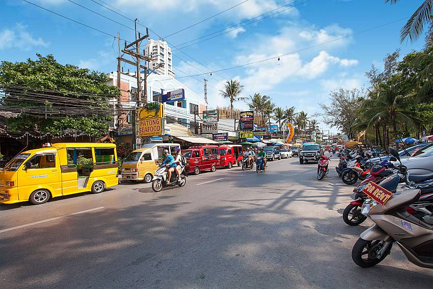Down town Patong close to Baan Sanun 3 in Phuket