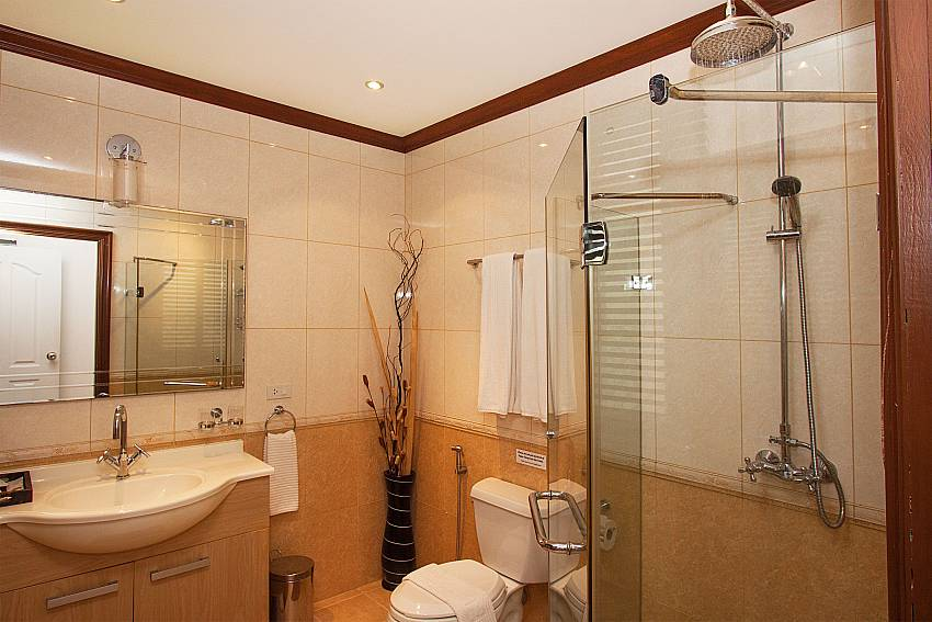 Modern bathroom at Baan Sanun 3 in Patong West Phuket
