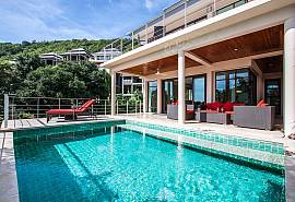 Baan Phu Kaew C1 | 3 Bed Sea View Pool Villa Koh Samui